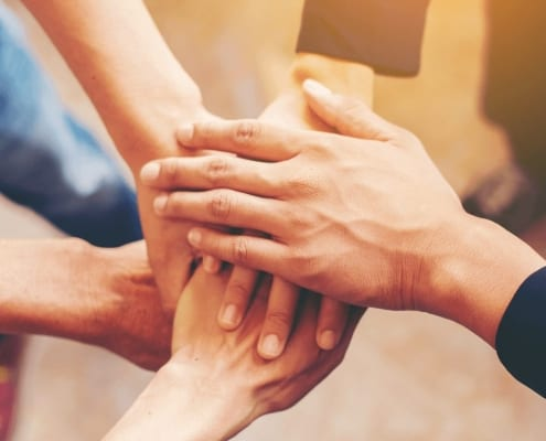 Ways To Strengthen Your Relationships - Hands Together Making Supportive Gesture - Port Melbourne Counselling Services