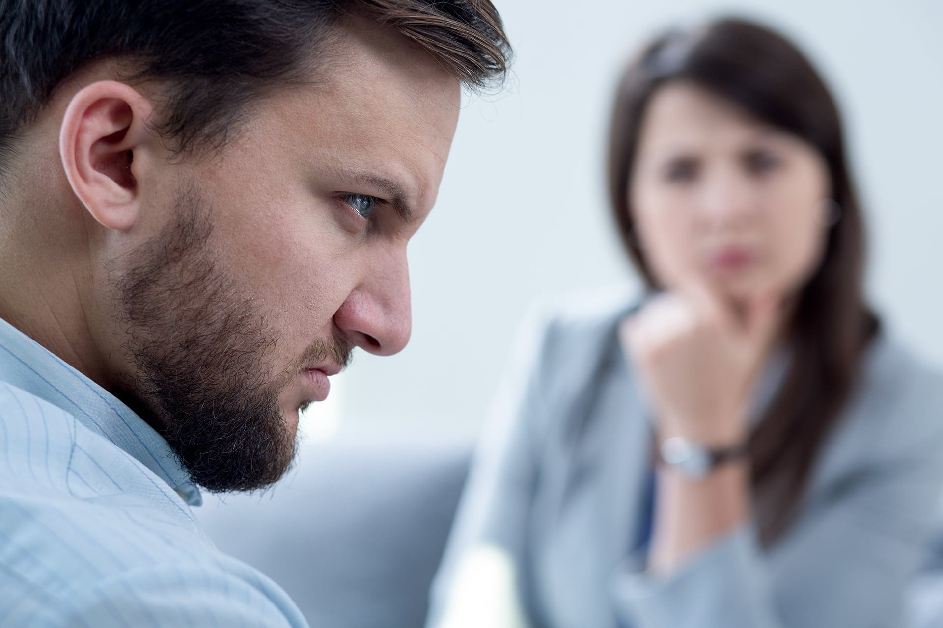 Man With Anger - Anger Management Counselling - Online Anger Management Courses