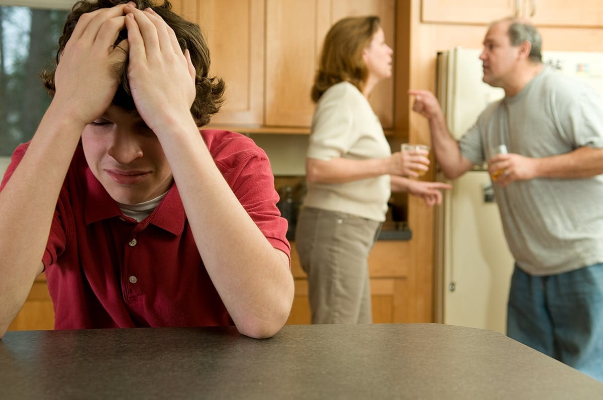 Family Fight - Son Crying In Reaction - Family Counselling Services Melbourne