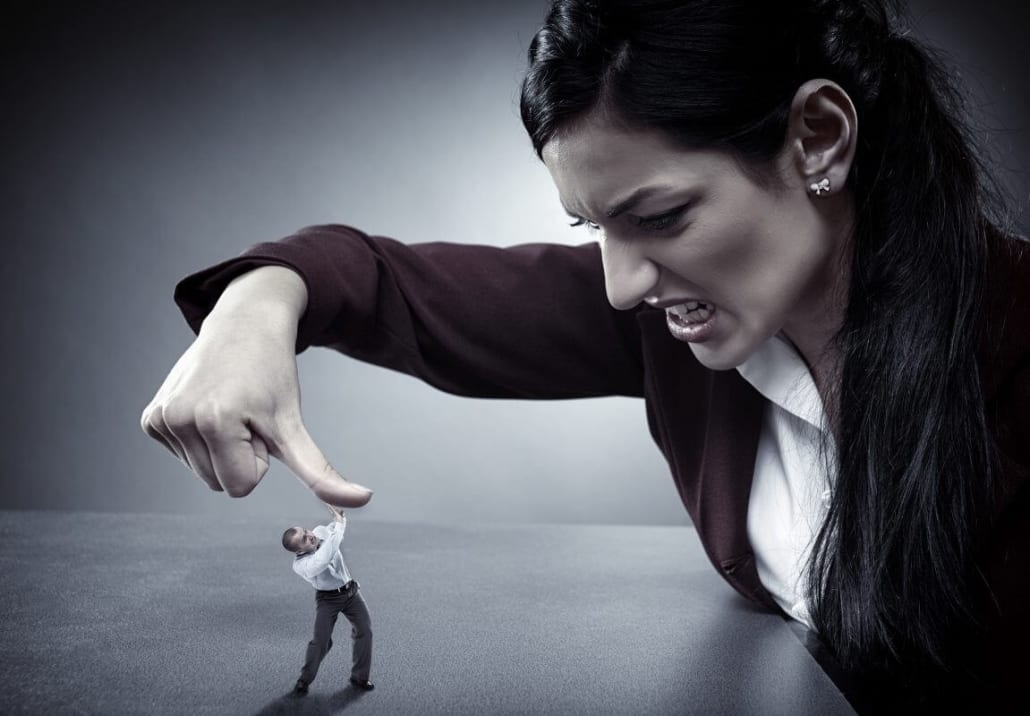 Angry Women Abusing Man - Anger Management For Women. Understanding Domestic Violence