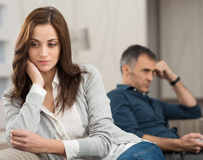 Divorce And Separation Counselling Melbourne - Married Couple Not Happy
